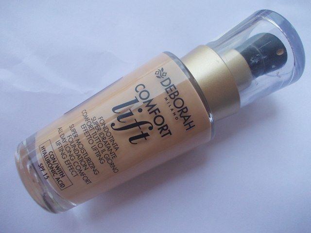 Deborah Milano, Comfort Lift Foundation, matte texture, buildable coverage, supple skin, non patchy, blends well
