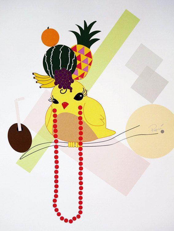 Chickita - digital art illustration by Ramalamb
