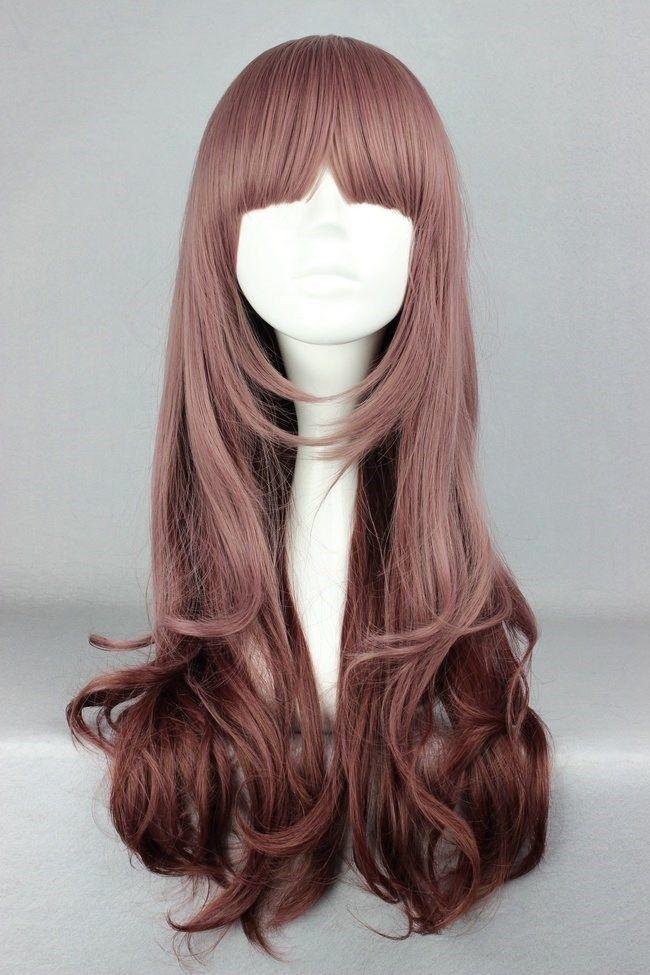 горячее надувательство 23.5inches/60cm долго мульти цвета волнистой долита красивый парик парик аниме, принадлежащий категории Парики и относящийся к Красота и здоровье на сайте AliExpress.com | Alibaba Group