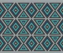Resultado de imagen de patrones para mochilas wayuu
