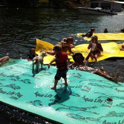 Aqua Lily Pad Floating Water Mat H2o Pad Lake Toy Ocean
