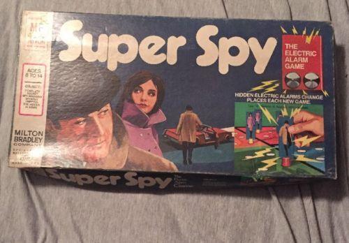 1971-Milton-Bradley-Super-Spy-Board-Game-The-Electric-Alarm-Game