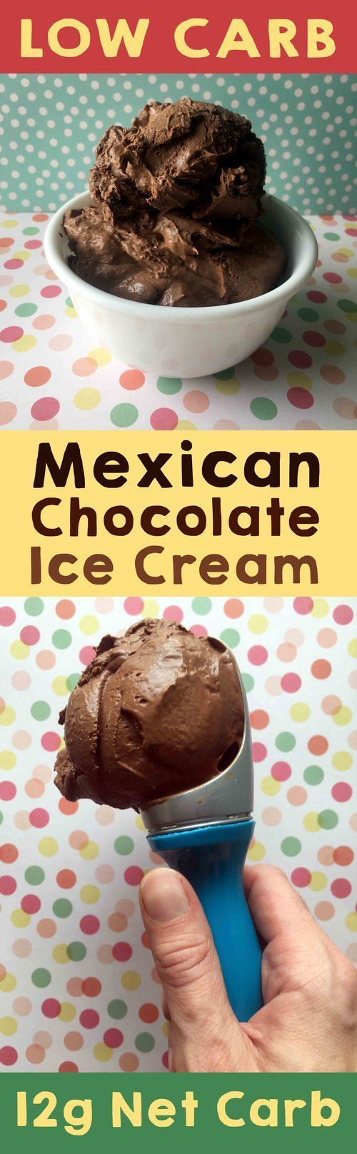 This recipe for Mexican Hot Chocolate Ice Cream is Low Carb, Keto, Banting, Paleo, Atkins, LCHF, Sugar Free and Gluten Free. It's also rather tasty.