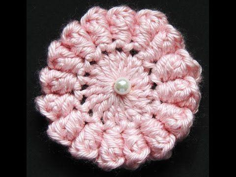 Crochet : Flor # 3