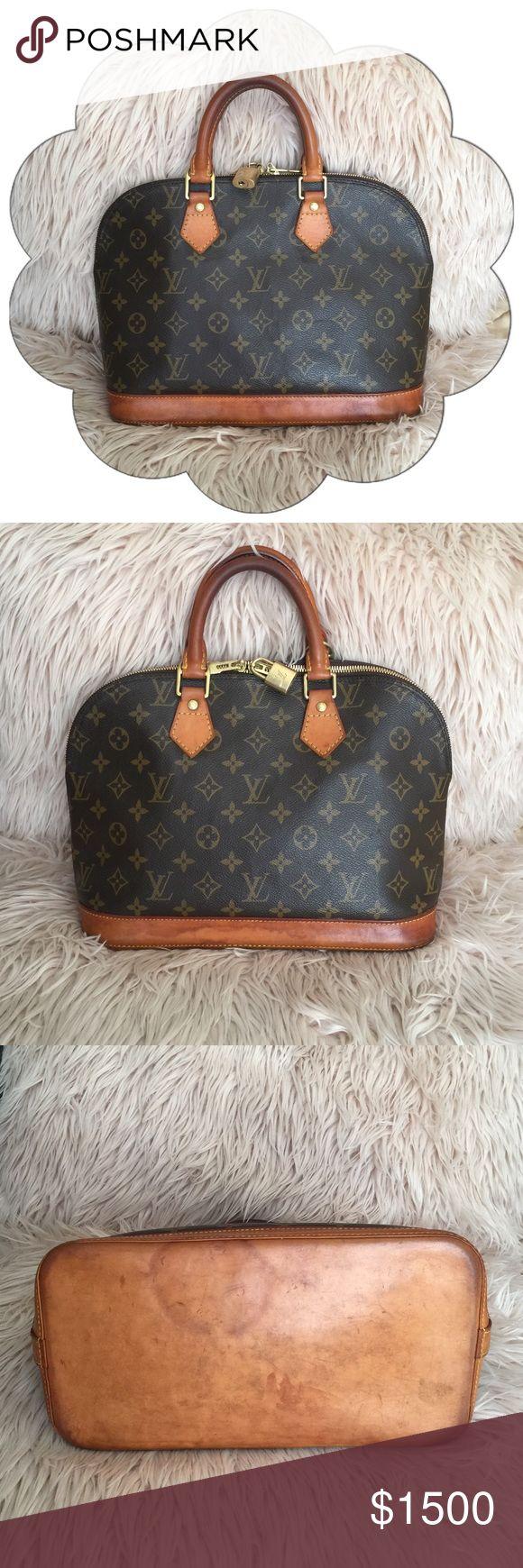 Authentic Louis Vuitton Alma PM Monogram 100% Authentic Louis Vuitton : Pre-Loved : Date Code FL0035 : : NO BUNDLE DISCOUNT Louis Vuitton Bags Satchels