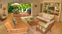 Kipuka Hale Private Home 2 bedrooms with AC 2 bathrooms Kauai Condo Rentals | Kauai Vacation Homes | Kauai Real Estate
