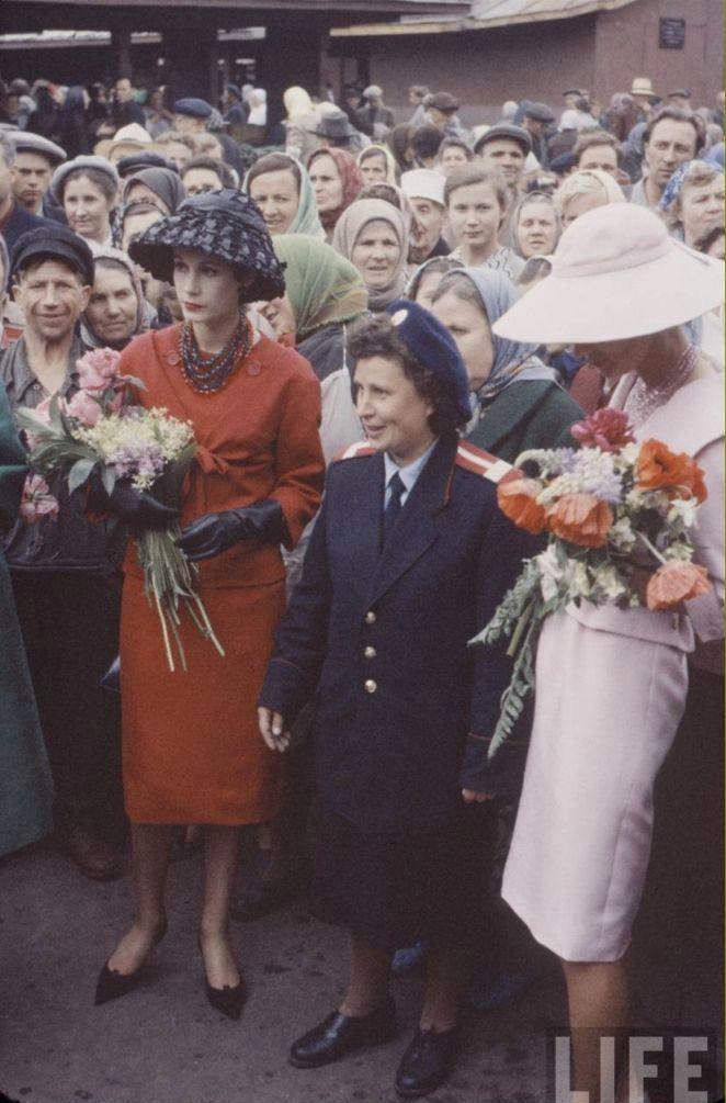Image result for диор в москве 1959 фото