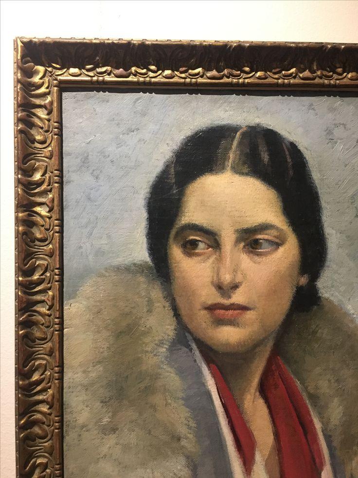 Carlo Socrate, Ritratto di Maria Quilici, 1930