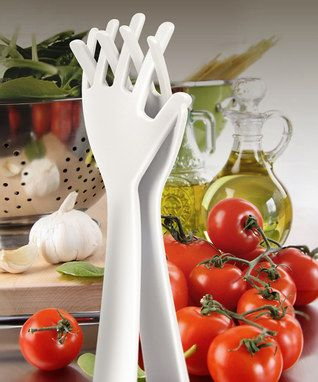 Idle Hands Salad Server Set
