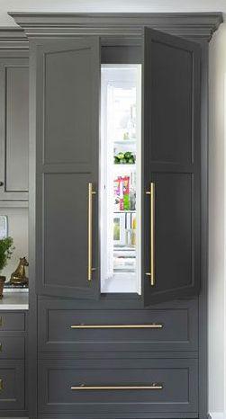 Idea :: Matching Cabinet Refrigerator
