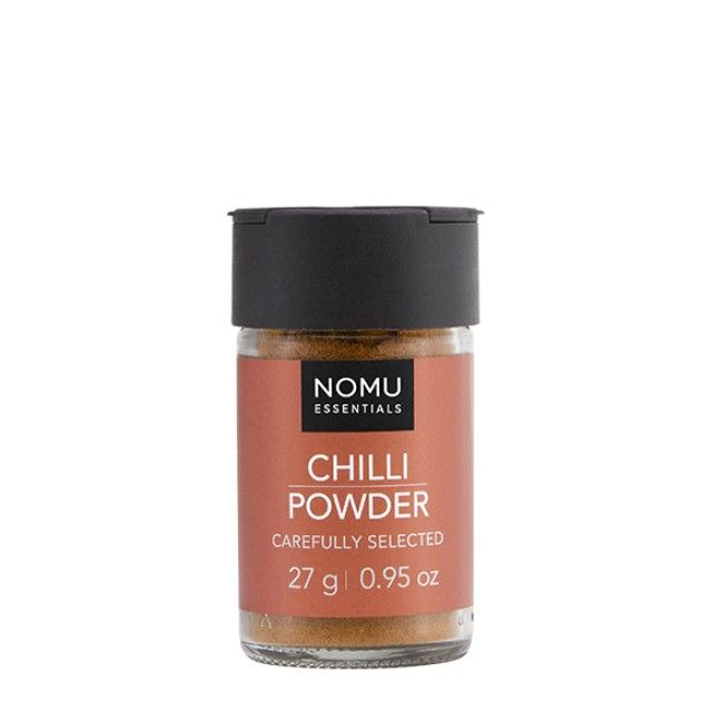 NOMU Single Spices - Chilli Powder: Chilli powder bring a warm and pleasant aroma with a biting, strong taste. Chilli powder forms the base of some of the best curries and stews.