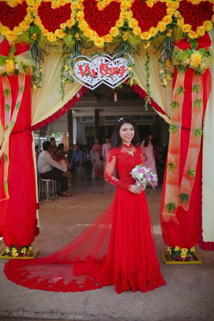 Traditional Chinese Wedding Ceremony - My traditional vietnamese wedding outfit