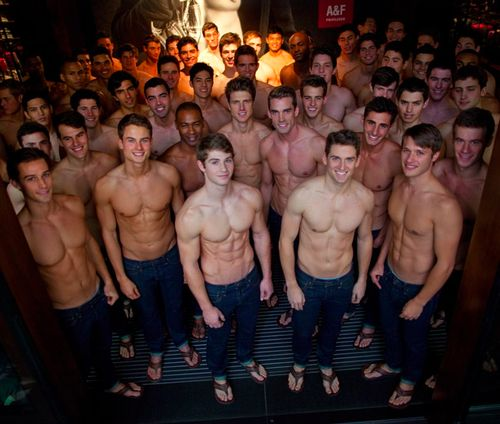 Hot abercrombie and fitch models
