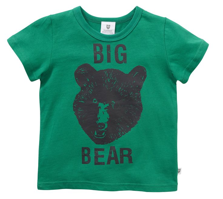 Machiko - a boutique for kids - Hootkid | Jade Big Bear Tee, $29.95 (http://www.machikobaby.com.au/products/hootkid-jade-big-bear-tee.html)