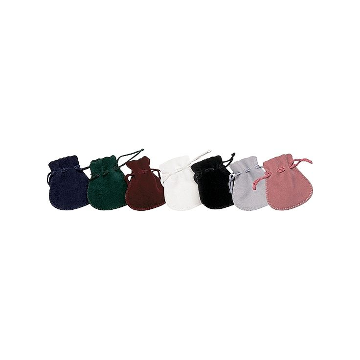 Our Suedine Pouches are great for adding a touch of luxury to your products. Perfect for any occasion, each pouch has a matching colour drawstring cord. Available in a wide range of sizes.