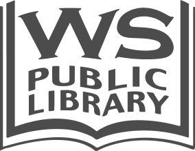 Open book WS Public Library logo