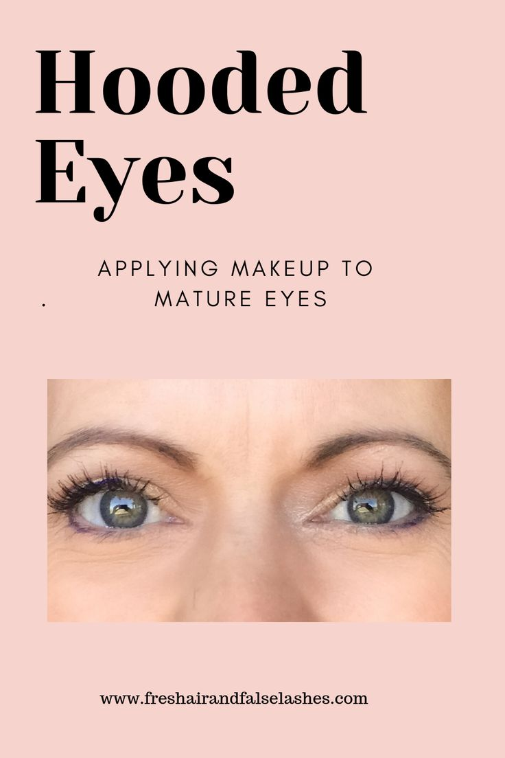 Mature Hooded Eyes Tips Amp Tricks To Apply Makeup For