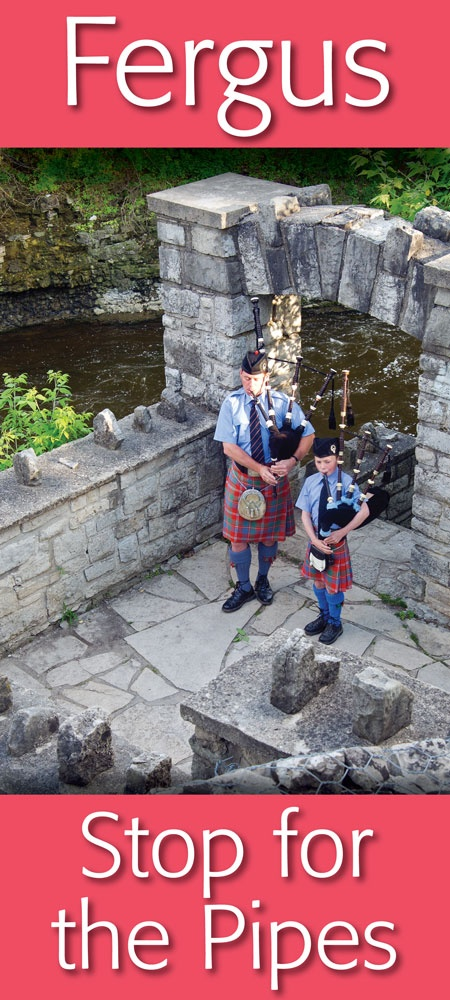 Pipers at Templin Gardens... in Downtown Fergus   https://www.facebook.com/pages/Downtown-Fergus/117343701609424