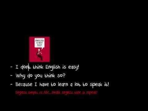 Engleza ABC începatori, Conversație 6