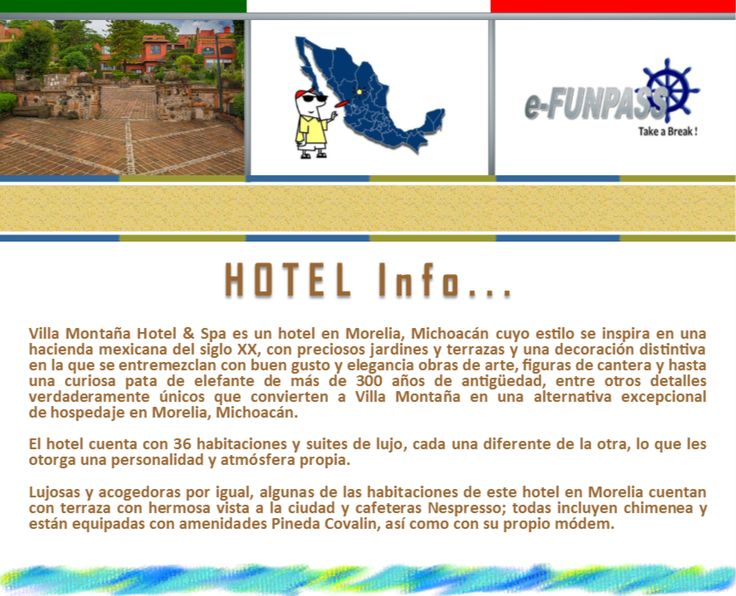 MORELIA - Villa Montaña Hotel & Spa