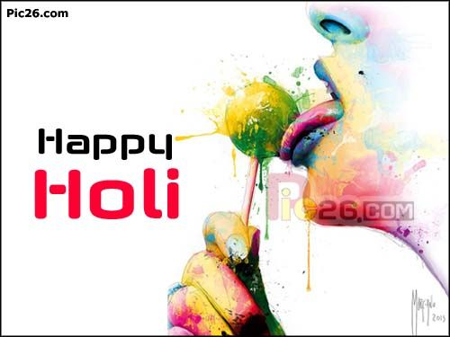 10 Best Happy Holi Greeting Cards and Wishes Images