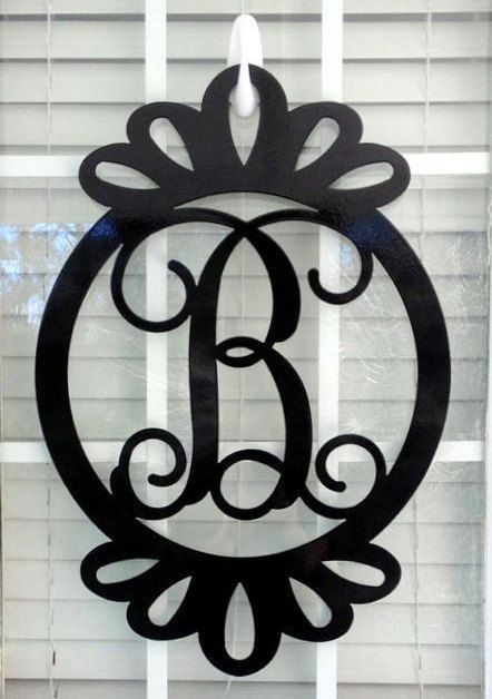 Best 25 Initial Door Hanger Ideas On Pinterest Monogram