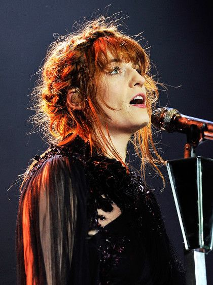 Florence and the Machine Frisur