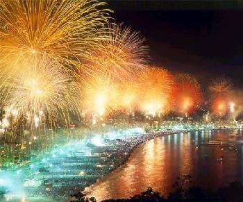 Ano Novo em Santos