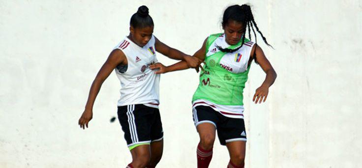 Vinotinto femenina sub-17 debuta este jueves ante Uruguay - Líder en Deportes