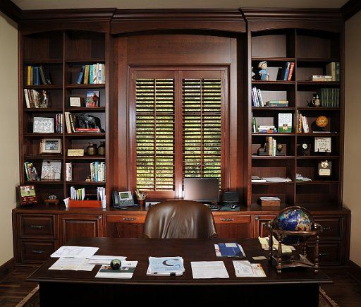 Make Work Enjoyable With A Beautiful Office Created By Eastburn Woodworks.  Find This Pin And More On Bookcases U0026 Entertainment Centers ...