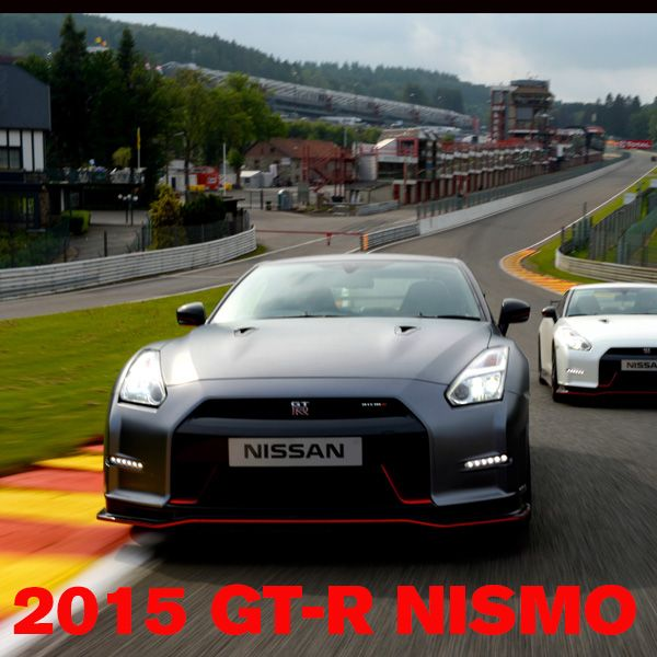 2015 GT-R NISMO sets new performance standard for legendary Nissan supercar with 600 horsepower, Nurburgring-developed suspension! GET THE SPECS: