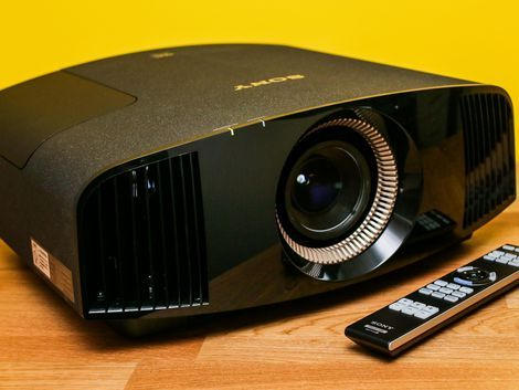 Sony's VPL-VW350ES is the cheapest true 4K projector yet, and it proves that good-quality 4K content on a 120-inch diagonal screen truly does trounce the detail you can get from 1080p Blu-ray.