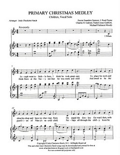 SINGING TIME IDEA: Primary Christmas Medley