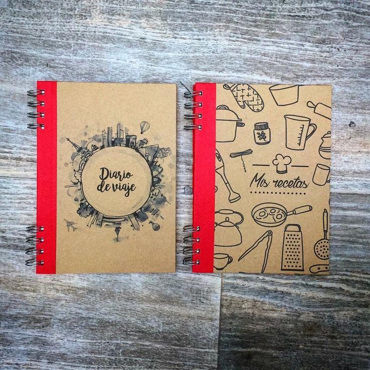 #cuaderno de viajes y de cocina para #mamá