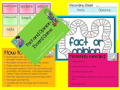 Fact and Opinion Board game...you can win it for FREE!