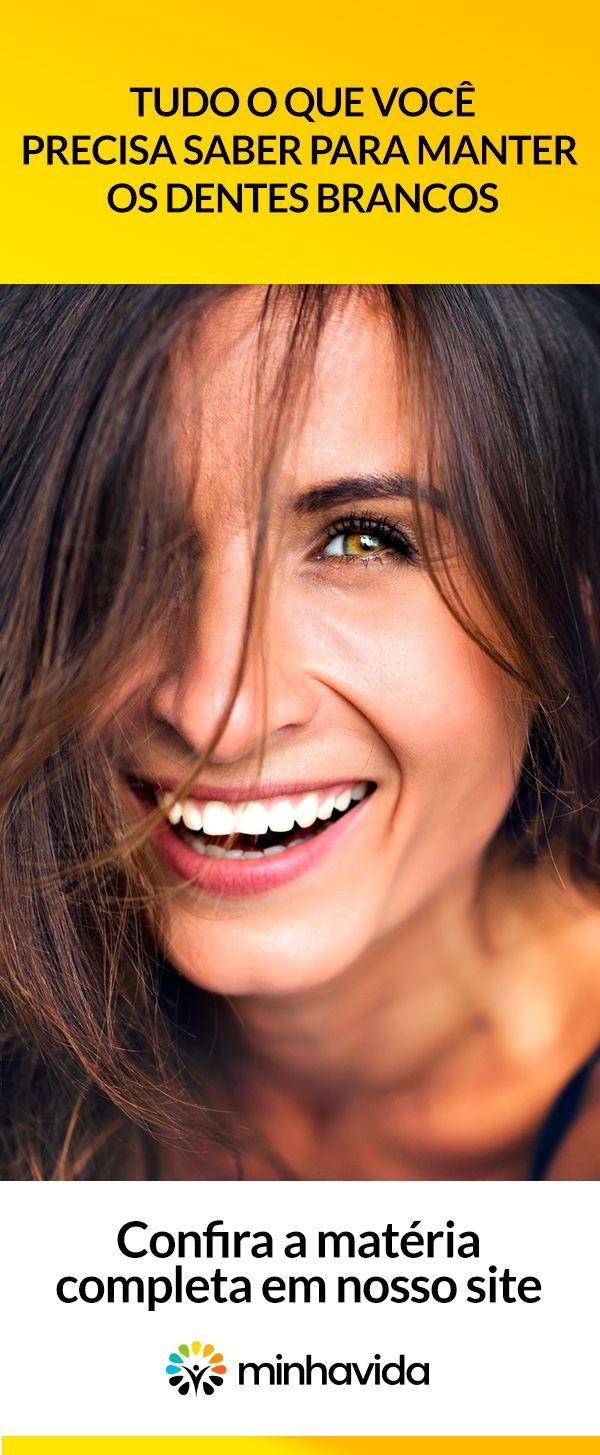 Dicas Para Manter Os Dentes Brancos Beleza Fitness