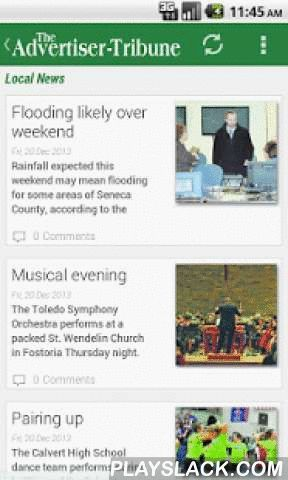 The Advertiser-Tribune  Android App - playslack.com ,  Local News from The Advertiser-Tribune, Tiffin's best source for local and national news, sports, The Advertiser-Tribune, Tiffin's best source for local and national news, sports, weather, and features in the Tiffin area. The A-T serves Seneca, Wyandot, H- Breaking News Alerts - Local News - Local Sports - Polls - Full Article Search - Local Garage Sales and Directions