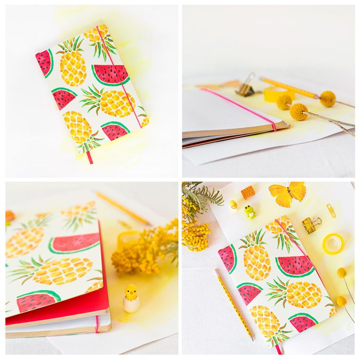 """Cuaderno DeLuxe """"Totally Tropical"""""""