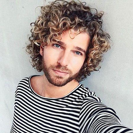 beste frisuren männer locken lang in 2020 (mit bildern