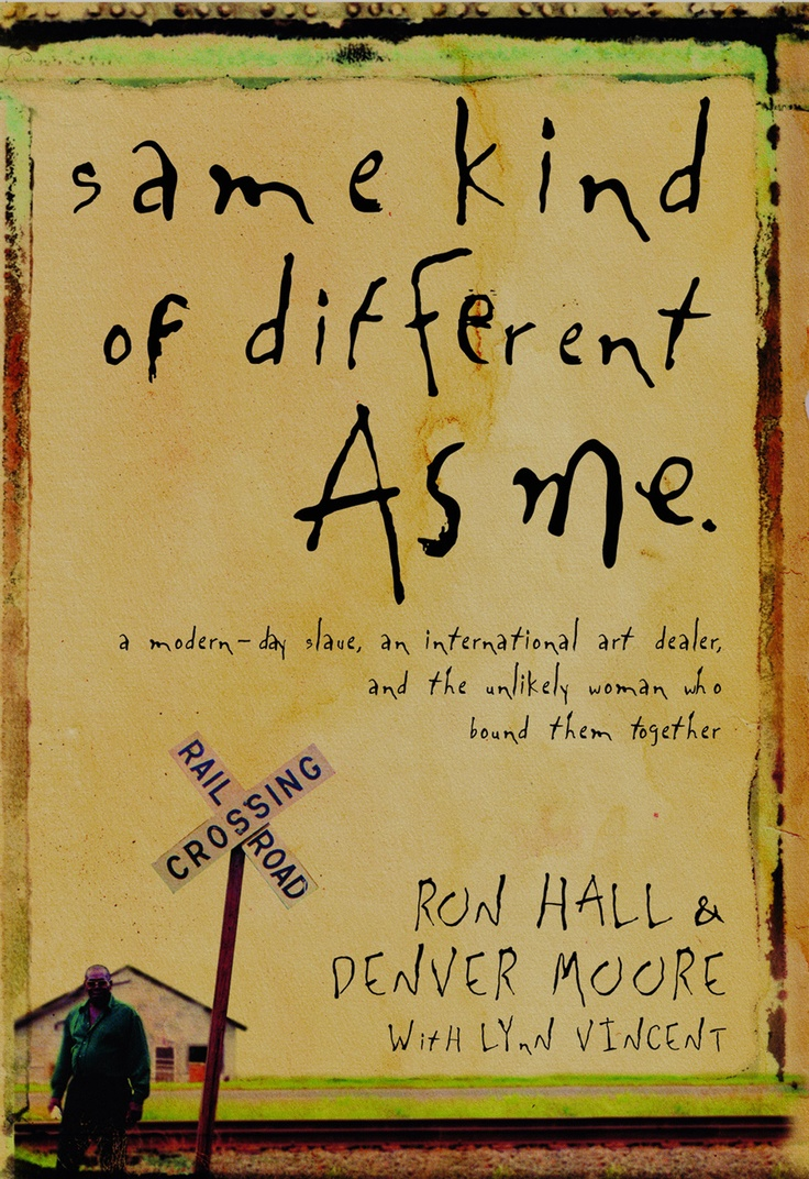 Same Kind of Different as Me. Amazing true story. I recommend it! - Hillary