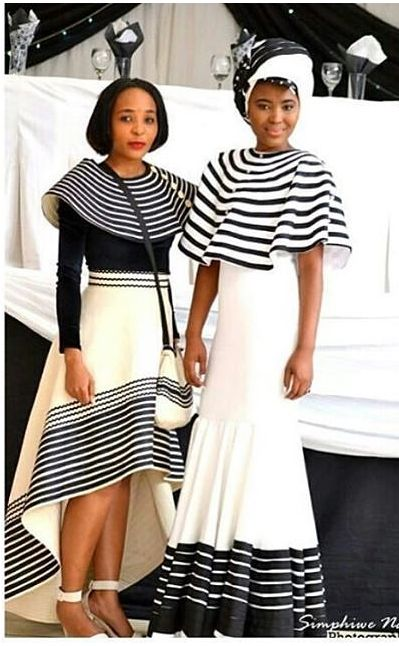 Xhosa - i see this word associated with these beautiful black and white dresses, but i don't know what it means yet