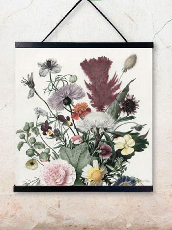 Flora poster  - wallhanger is sold separately