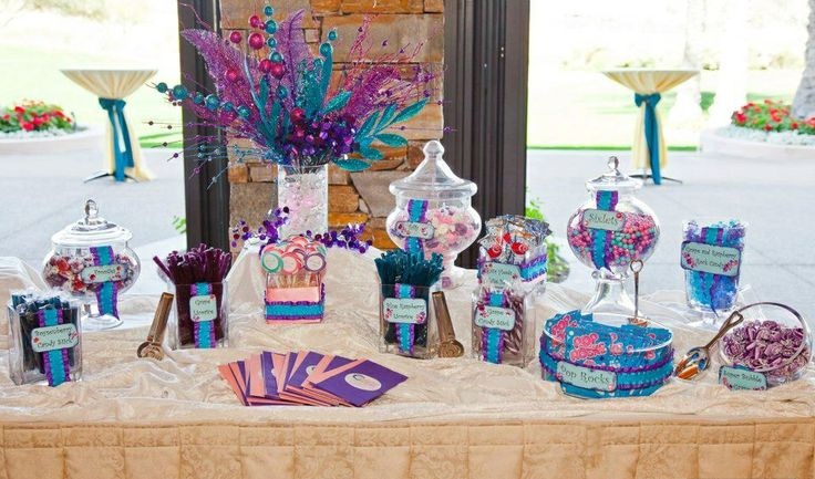 Purple Wedding Candy Buffet | ... by Amy Bacon: A Celebrations By Amy Bacon theme Candy Buffet