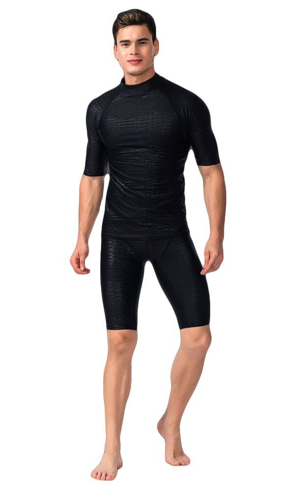 628b19895fc Canoeing - Fortunings JDS Mens swimwear sun protection short sleeve  rashguard swim tee shirt ** You could find out even more details at the  link of the ...