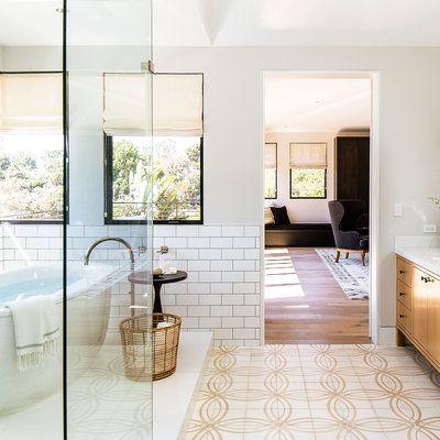 Stylish Ways To Decorate With Subway Tile Modern Bathroomsmaster Bathroomsroom Decorating Ideassubway Tilesthe