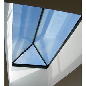 Modern style roof lantern from reflex glass