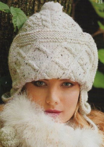 Cabled Hat - Vogue 2010-11 - Winter