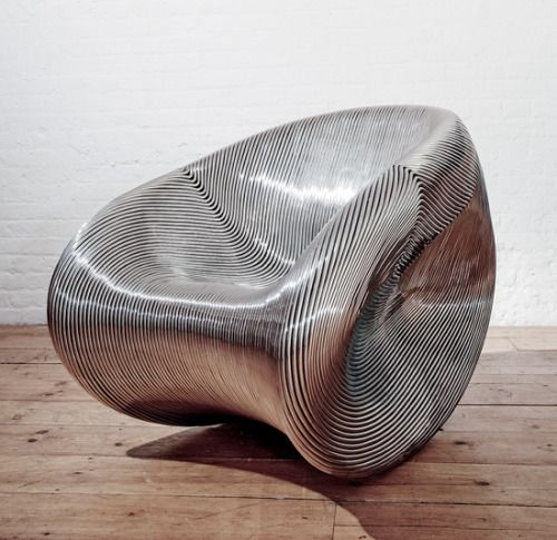 MT Rocker Solid, 2010 Stainless Steel By Ron Arad