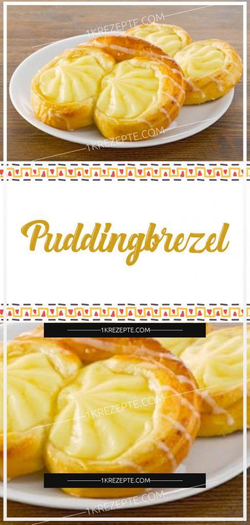 Puddingbrezel – Rezepte 1k   – Essen & Trinken
