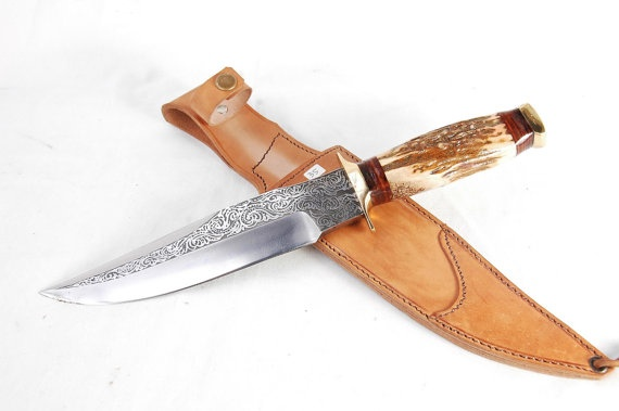 Indonesia Ethnic Handmade Traditional Bowie by Aquilaknifemaker: Ethnic Handmade, Indonesia Ethnic, Handmade Traditional, Traditional Bowie